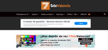 web 7televalencia.com apaisada