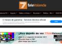 Trabajo de mejora de rendimiento en 7televalencia.com