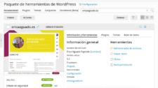 WPToolKit, gestión de WordPress
